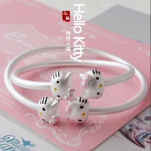 Kitty Cat 925 Silver Bracelet Size Adjustable Bracelet pictures & photos