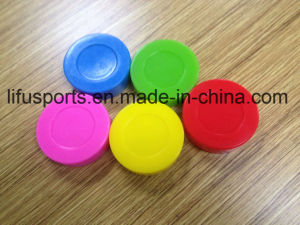 Orange Low Bounce Soft Hockey Puck pictures & photos