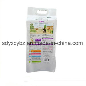 4-Side Sealing Plastic Bag/Side Gusset Bag Forpet Food pictures & photos