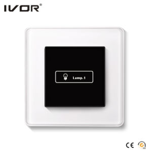 1 Gang Lighting Switch Touch Panel Aluminum Alloy Outline Frame (HR1000-AL-L1-B) pictures & photos