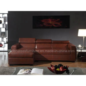 Wk-F2019 Aparement Living Room Leather Sofa Furniture pictures & photos