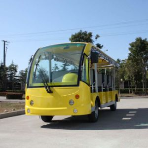 Marshell Factory Direct 11 Passenger Tourist Transport Vehicle (DN-11) pictures & photos