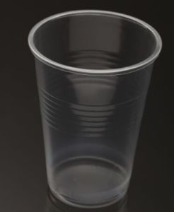 High Quality Airline Clear PP Disposable Plastic Cup pictures & photos