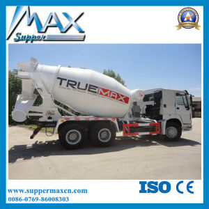 China Sinotruk Brand 6X4 8L HOWO Concrete Mixer Truck pictures & photos