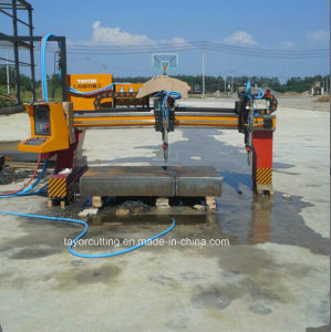 CNC Big Oxy-Fuel Gantry Cutting Machine pictures & photos
