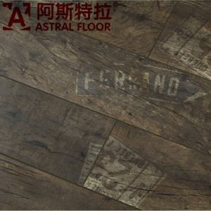 2015 Hotsale New Product 12mm HDF Letter Laminate Flooring (AS2013) pictures & photos
