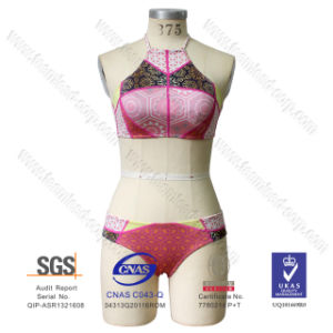 2016 Newest Bandage Neoprene Bikini Swimsuit Swimwear pictures & photos