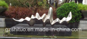 Wave, Outdoor Stainless Steel Sculpture, Abstract Shape Curve pictures & photos