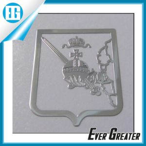 Customized Custom Metal Sticker with 3m Glue Backside pictures & photos