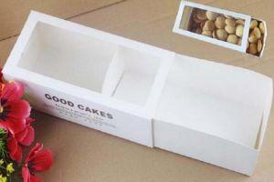 Eco-Friendly White Paper Box/Cupcake Box/Cookies Box