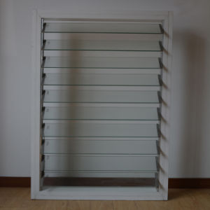Aluminum Frame Roller Handle Glass Shutter Window K09004 pictures & photos