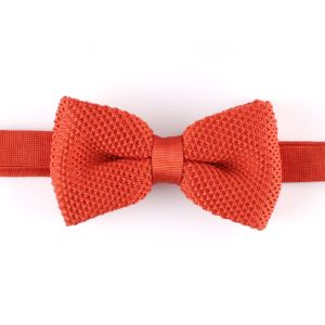 Men′s Fashionable Plain Knitted Bow Tie (YWZJ 20) pictures & photos