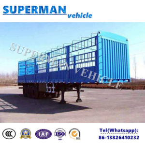 13m Heavy Duty Stake Storehouse Semi Truck Trailer for Cargo pictures & photos