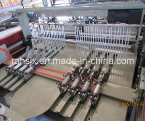 Automatic Hot Cutting T-Shirt Shopping Bag Making Machine (HSRQ-500X2) pictures & photos