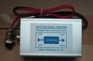 12VDC (9-18VDC) to 24VDC Power Adaptor/ Power Converter pictures & photos