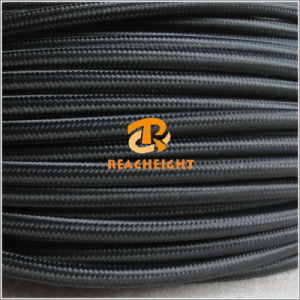 Colored Braided Cable Textile Cable Fabric Cable Cotton Cable pictures & photos