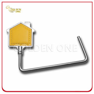 Promotion Gift Nickel Plated House Design Metal Purse Hook pictures & photos