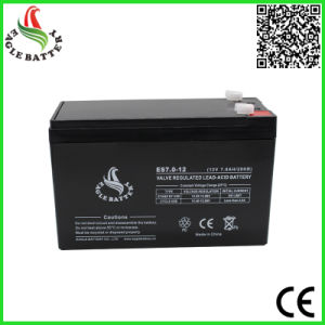 12V 7ah Sealed Maintenance Free Lead Acid Battery pictures & photos