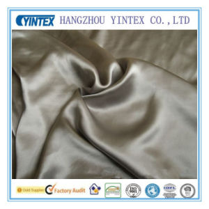 Wholesale 100% Silk Satin Fabric with Dyeing pictures & photos