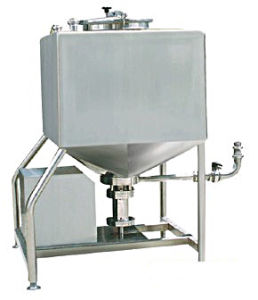 Food Sanitary Stainless Steel 500L Square High Shear Emulsifying Tank pictures & photos