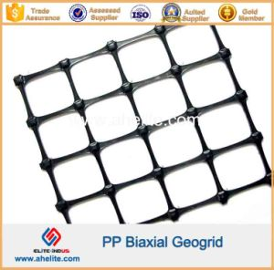 PP Plastic Biaxial Geogrid for Road Construction and Slope Protection pictures & photos