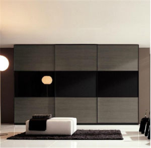 Home Furniture Black and White High Gloss Lacquer Wardrobe pictures & photos
