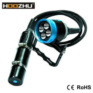 Hoozhu Hu33 Diving Lamp CREE LED Dive Lamp with 4000 Lumens for Diving