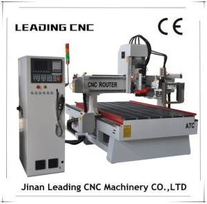 China Jinan Leading CNC Router with Auto Tool Changer