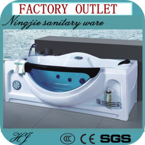 Factory Outlet Massage Acrylic Whirlpool Bathtub (504) pictures & photos
