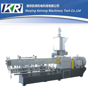 Pet/PE/PP/PA/PS Twin Screw Plastic Recycling Granule Making Machine pictures & photos