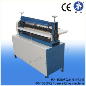 Simple and Durable Foam Rubber Sheet Strip Slitting Machine pictures & photos