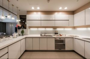 Modern Design Home Furniture White Kitchen Cabinet Yb1709486 pictures & photos