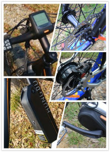 4.0 Inch MID Motor Electric Mountain Bicycle, Man Beach Cruiser E-Bike pictures & photos