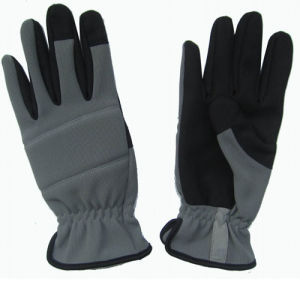 Promotion New Design Synethic Leather Construction Work Safety Gloves pictures & photos