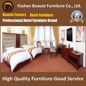 Hotel Furniture/Luxury Double Bedroom Furniture/Standard Hotel Double Bedroom Suite/Double Hospitality Guest Room Furniture (GLB-0109859) pictures & photos