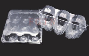 2/4/6/8/10/12/15/18/24/30 Holes Disposable Plastic Eggs Tray (PVC egg container) pictures & photos
