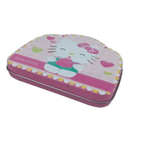 Tea Mint Tin Box with Hinged Lid Hinged Tin Box pictures & photos