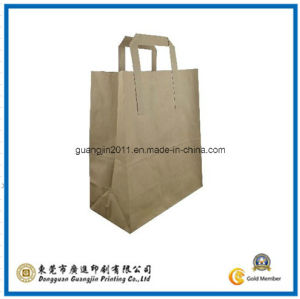 Kraft Paper Gift Carrier Bag (GJ-Bag314) pictures & photos