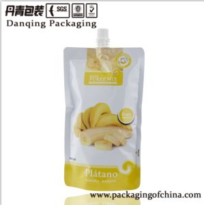 Danqing Laminated Plastic Bag with Spout and Cap Packaging pictures & photos