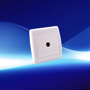1 Gang European Wall TV Socket (YW21108) pictures & photos