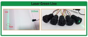 Line with DOT 515nm Green Laser Module pictures & photos