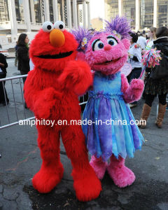 Mascot Costume Elmo and Cookie Supply