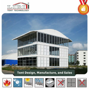 10X30m Inflatable Double Decker Tent Two Storey Tent for VIP Stage pictures & photos