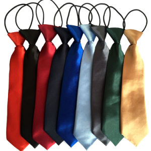 Wholesale Custom Polyester School Yellow Neck Ties (A392) pictures & photos