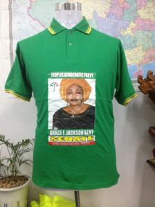 Promotional Printing Cheap Election Polo T-Shirt pictures & photos