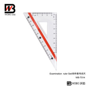 2016 Multifunctional China Examination Ruler Set for Stationery Use pictures & photos