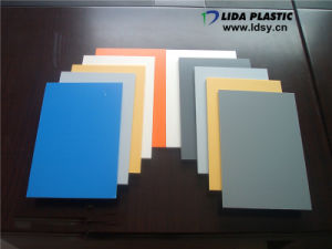 Embossed/Sandy Finish PVC Sheets pictures & photos
