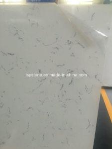 Bianco Carrara White Quartz Stone for Countertop pictures & photos