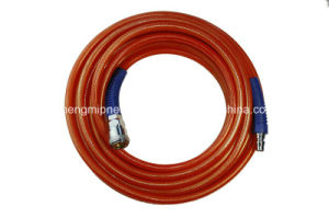 5.5*8mm TPU Reinforced Tube, PU Braided Hose (Anti-oil) pictures & photos