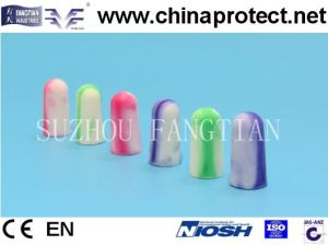 Foam Ear Plug Security Hearing Protection with Ce pictures & photos
